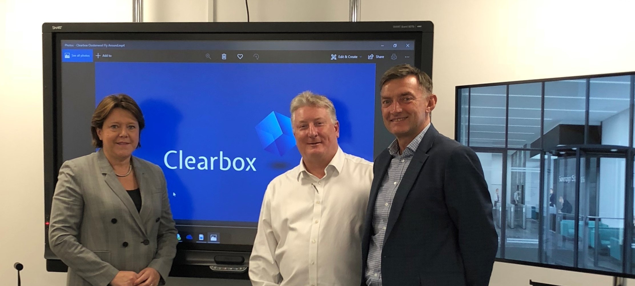 Maria Miller MP visits Clearbox